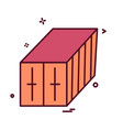 container icon design vector image