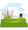 fairytale city vector image vector image