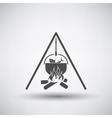 Fishing Pot Icon vector image