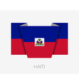 Flag of Haiti Flat Icon vector image vector image