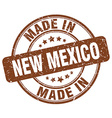 made in New Mexico vector image