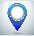 Map marker pin icon vector image vector image