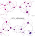 Network Backgroud vector image vector image