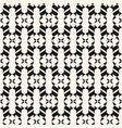 abstract geometric ornament seamless pattern vector image vector image