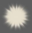 halftone star- burst design vector image vector image