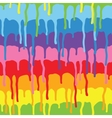 Paint drips pattern vector image vector image