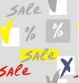 sale info banner vector image