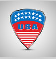 usa shield emblem vector image