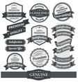 vintage badges and labels vector image vector image