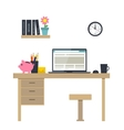 workplace vector image