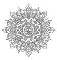 beautiful mandala vector image