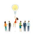 business education concept idea innovation vector image