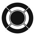 circle graph icon simple vector image