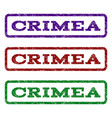 crimea watermark stamp vector image vector image