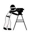 Engineer design vector image vector image