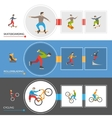 Horizontal Extreme City Sports Banners vector image