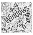 House Energy LCC Word Cloud Concept vector image