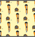 measure tape seamless pattern for labor day vector image