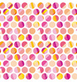 modern polka dot seamless pattern concept surface vector image vector image