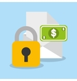 security money investment flat vector image