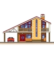 House cottage graphics vector image
