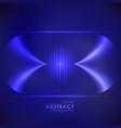 equalizer blue wavy background vector image