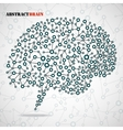 Abstract brain human vector image vector image