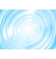 Bright blue abstract smooth circle background vector image