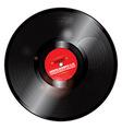 Christmas Vinyl record vector image vector image