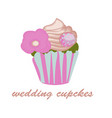 Cupcake icon on the white background for your