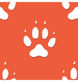 dog footprint seamless pattern vector image