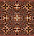 pattern in style australian aborigines vector image