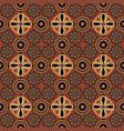 pattern in the style of australian aborigines vector image