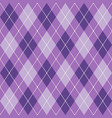purple and white seamless argyle pattern vector image