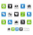 Web Navigation Clean Series vector image
