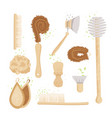 cartoon set kitchen household and house vector image
