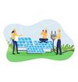 concept renewable energy vector image