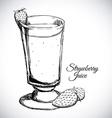 fruit juice design vector image vector image