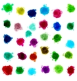 ink drop stains vector image vector image