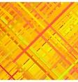 Orange Glitch Background vector image vector image