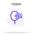 our services air balloon blow relief stress solid vector image vector image