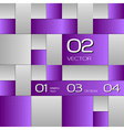 Purple Layout vector image vector image