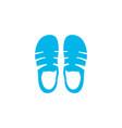 sandals icon colored symbol premium quality vector image