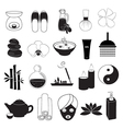 Spa and Aroma Icons Set vector image