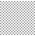 square black empty and filled squares the grid of vector image vector image