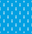 tube cream pattern seamless blue vector image vector image