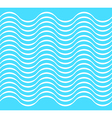 Water wave seamless background vector image vector image