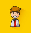 young businessman image vector image