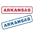 Arkansas Rubber Stamps vector image