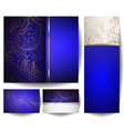 blue backdrop template set